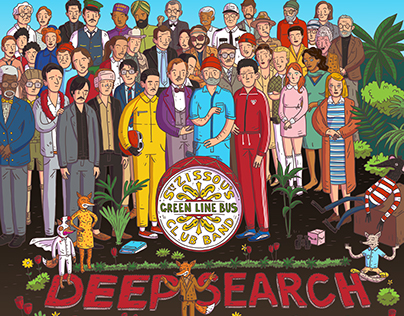 Wes Anderson meets Sgt Pepper