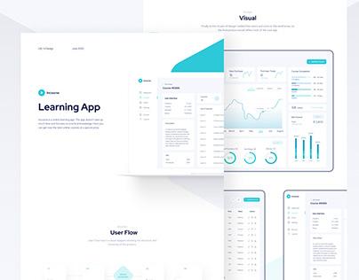 Educational platform, learning app, dashboard