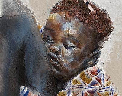 Deep sleep | Digital painting
