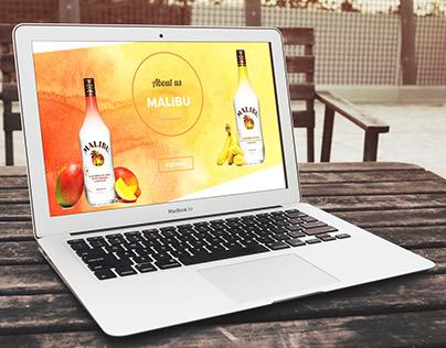Malibu - Webdesign