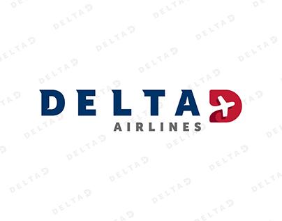 Delta Air Lines Branding Redesign