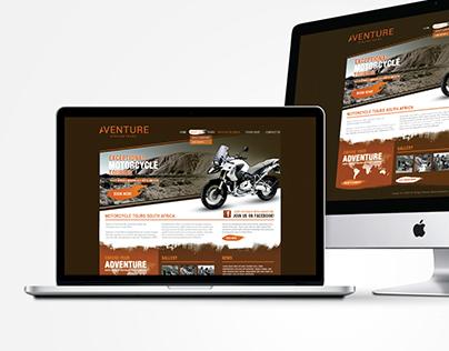 Aventure Website Design