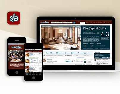 SpoonByte Web & Mobile App