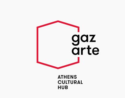 Gazarte, Athens Cultural Hub – Brand Identity