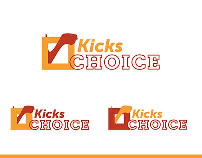 Kick CHOICE Webshop Logo / Branding