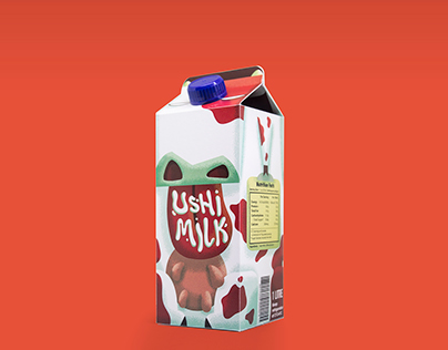 Ushi Milk - Packaging Design