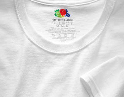 Fruit of the Loom // Logo Reduction for Screen Use