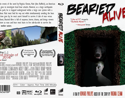 """Bearied Alive"" DVD Cover Project"