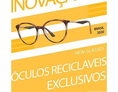 Flyer Promocional Óculos De Marca Própria