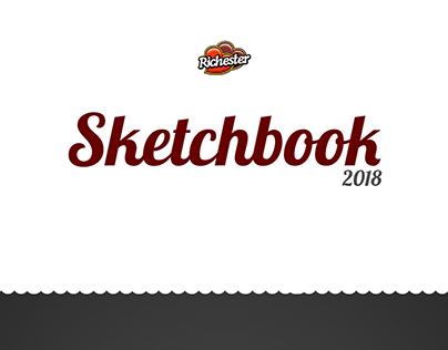 Sketchbook - Promoção Arte na Mão Richester