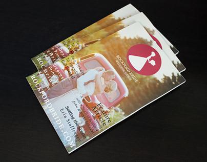 Rockford Wedding Magazine Design 2016