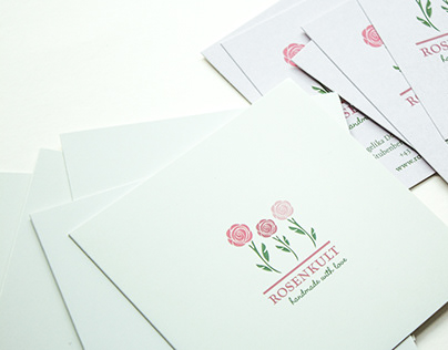Informationsfolder für Rosenkult – handmade with love