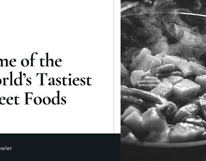 Robert Vowler   The World's Tastiest Street Foods