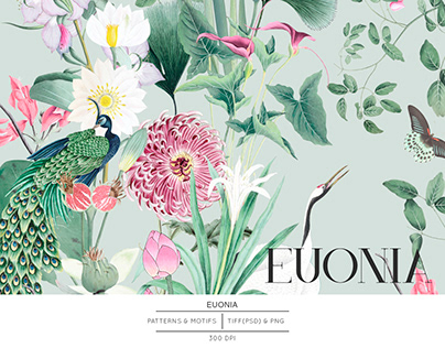 Euonia, Luxurious Pattern Design