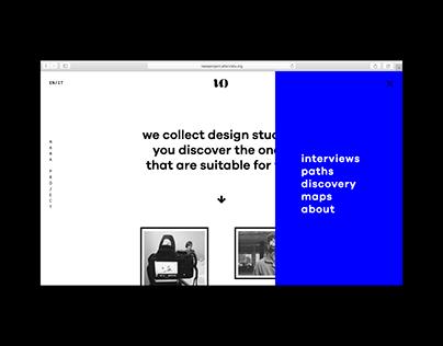 nawa project — website