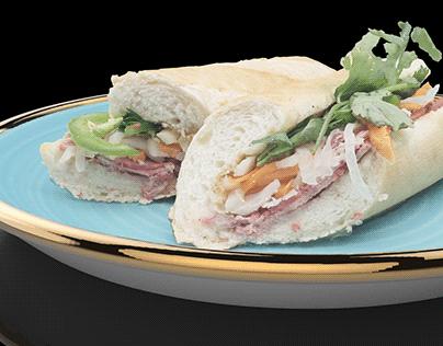 Banh Mi (Baguette Sandwich)