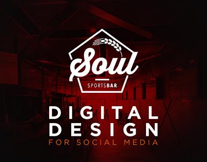 Soul Sports Bar - Digital Design
