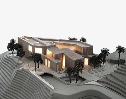 Villa for Solitude in Jebel Jais, UAE by MEAN