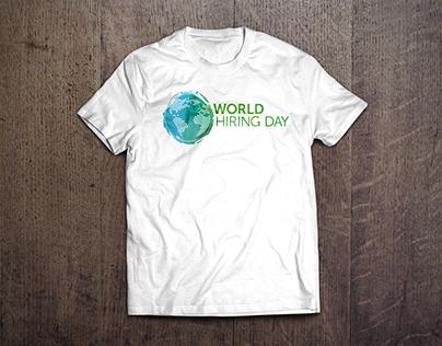 World Hiring Day – T-shirt Design