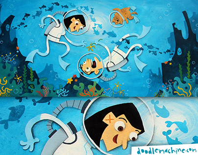 Don, Leena, under the Sea
