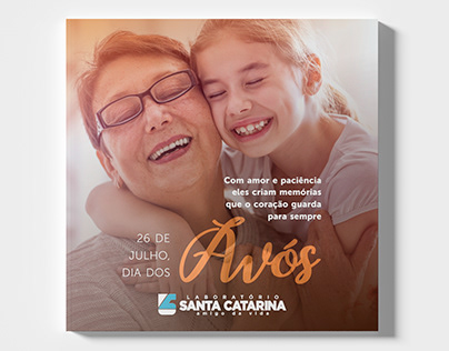 Dia dos avós Laboratório Santa Catarina