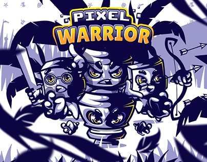 Pixel Warrior - Characters Design