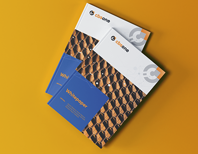 CBS ONE - Logo and Whitepaper design