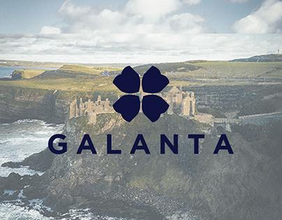 GALANTA PREMIUM AIRLINE | Branding