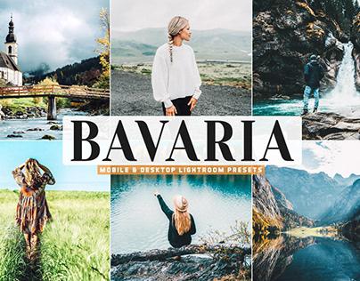 Free Bavaria Mobile & Desktop Lightroom Presets