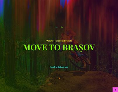 Move to Brasov - Website Design and Development