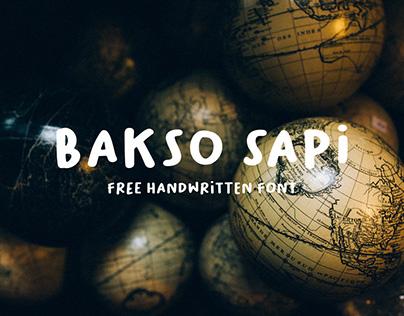 Bakso Sapi Free Font