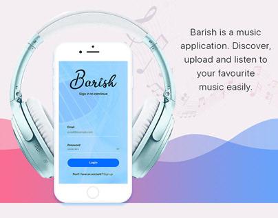 Barish - UI Design....
