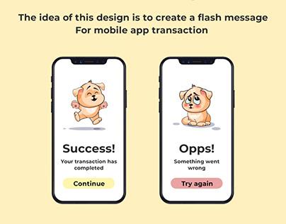 Flash Message
