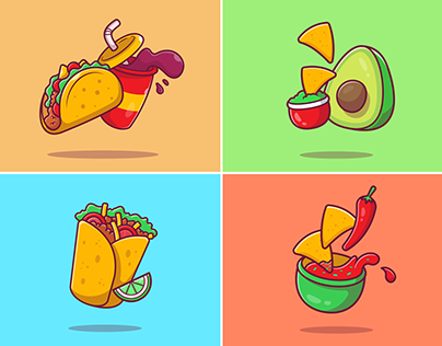 Mexican Food 🌮🥑🌶️🌯