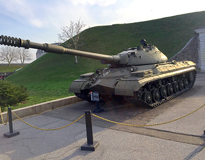 Museum of military equipment in Kyiv.