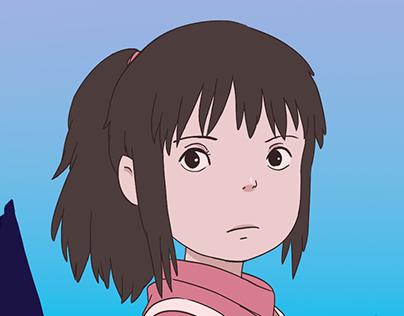 Infográfico Studio Ghibli