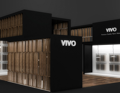 VIVO Fabric Exhibition Booth