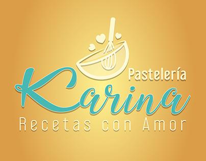 Logo Pastelería Karina