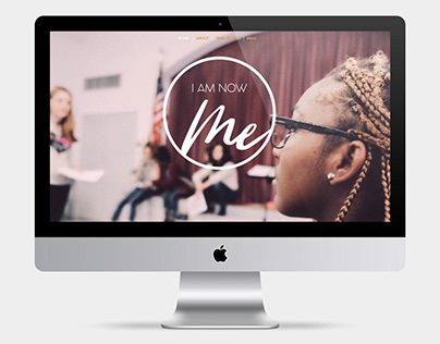 I AM NOW ME - At Risk Youth Foundation Branding
