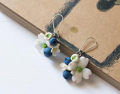 Summer forest handmade jewelry