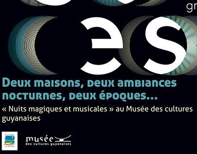 Nuit européenne des musées au MCG - Cayenne, Guyane