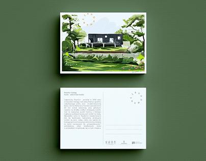 Postcards for SARP Poznan