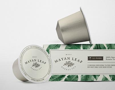 Mayan Leaf