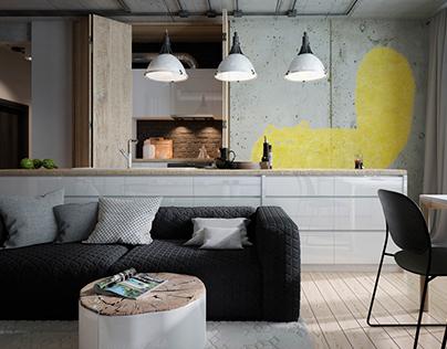 Loft family interior