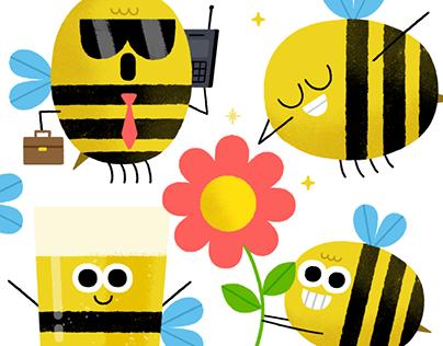 Mumble Bees - Snapchat