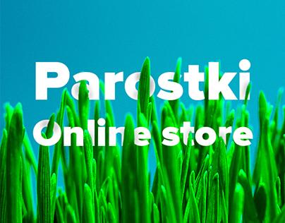 """Parostki"" Online store"