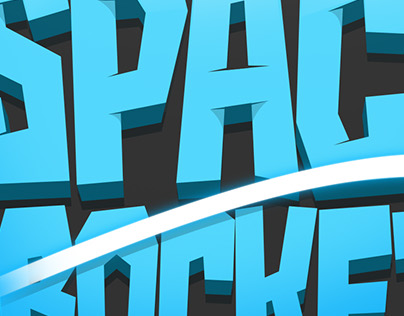 Space Rocket Game Logo