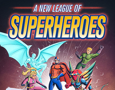 A New League Of Superheroes