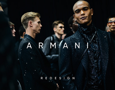 Armani — Online Store