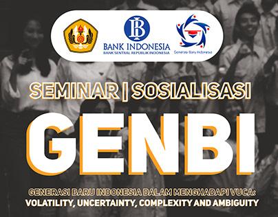 GenBI Unpad 2018: Seminar dan Sosialisasi Beasiswa